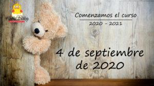 Comenzamos el curso 2020 – 2021