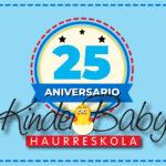 25º aniversario de Kinder Baby